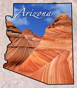 az arizona map