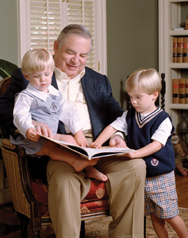 bob feldman grandfather and grandkids