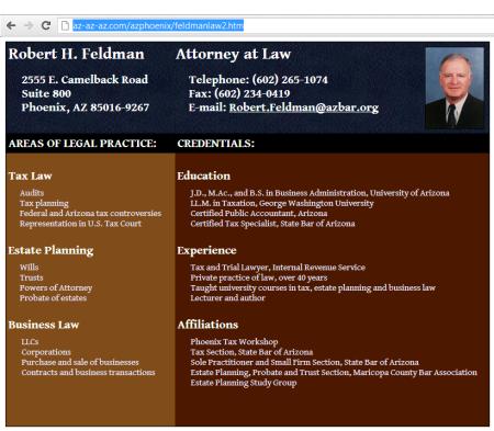 feldman law