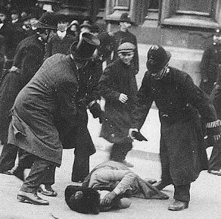 police beating civilian