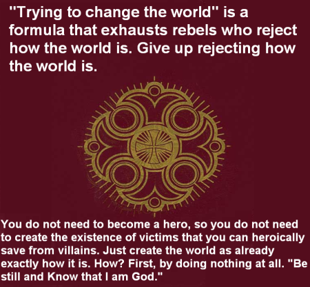 trying to change the world