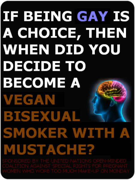 GAY MARRIAGE CHOICES