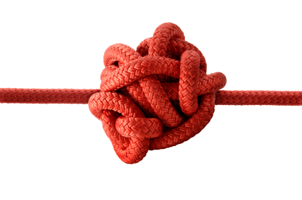 knot of stress