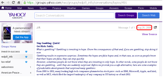 yahoo group screenshot 2