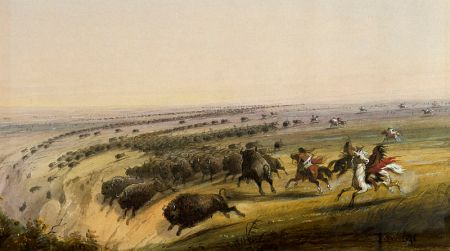 800px-Alfred_Jacob_Miller_-_Hunting_Buffalo_-_Walters_371940190