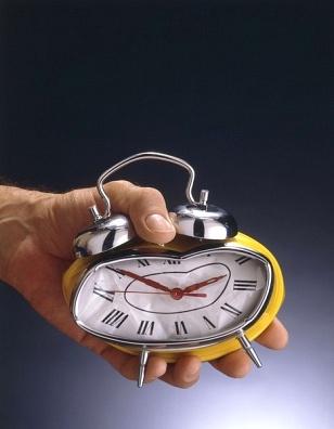 crushing a clock