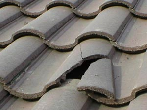 repair to damaged-tile-roof in Phoenix AZ