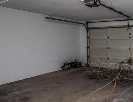 garage before conversion