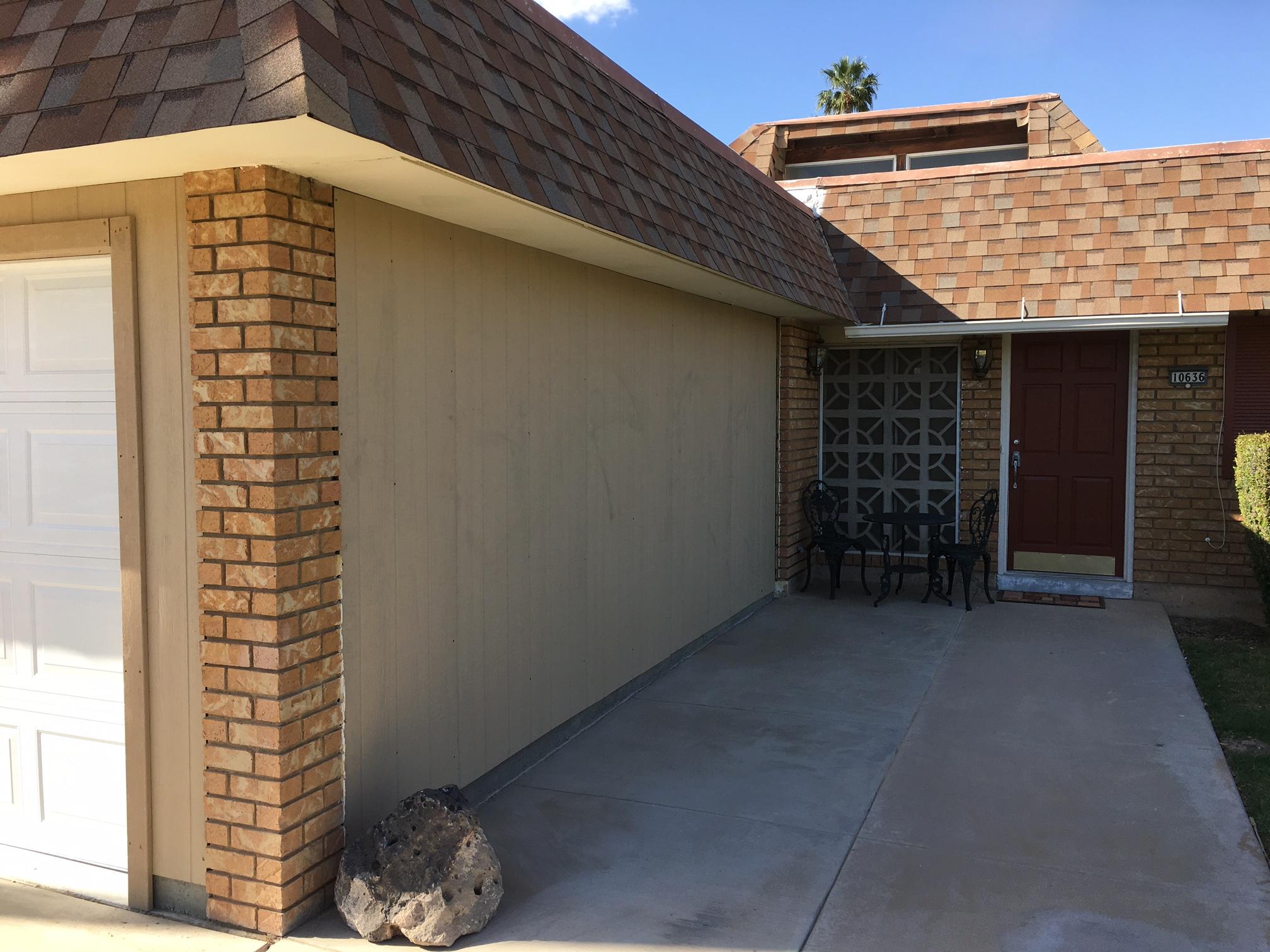 Carport-to-garage conversion Phoenix: before & after photos