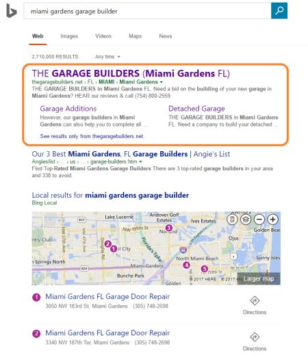 bing- miami gardens garage builders