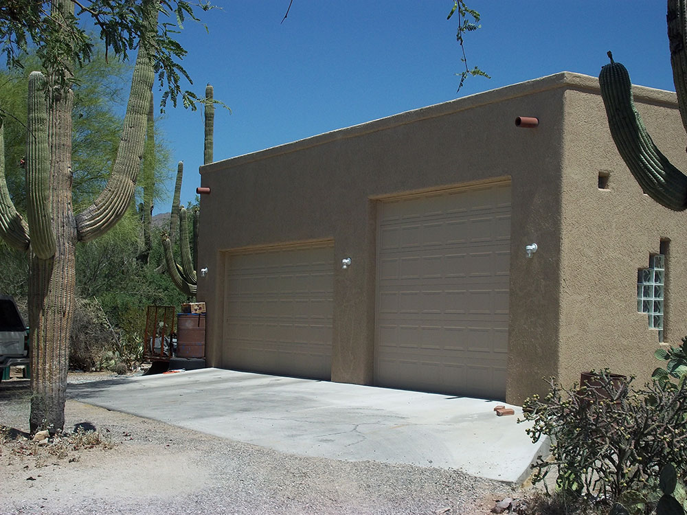 RV Garage construction in AZ