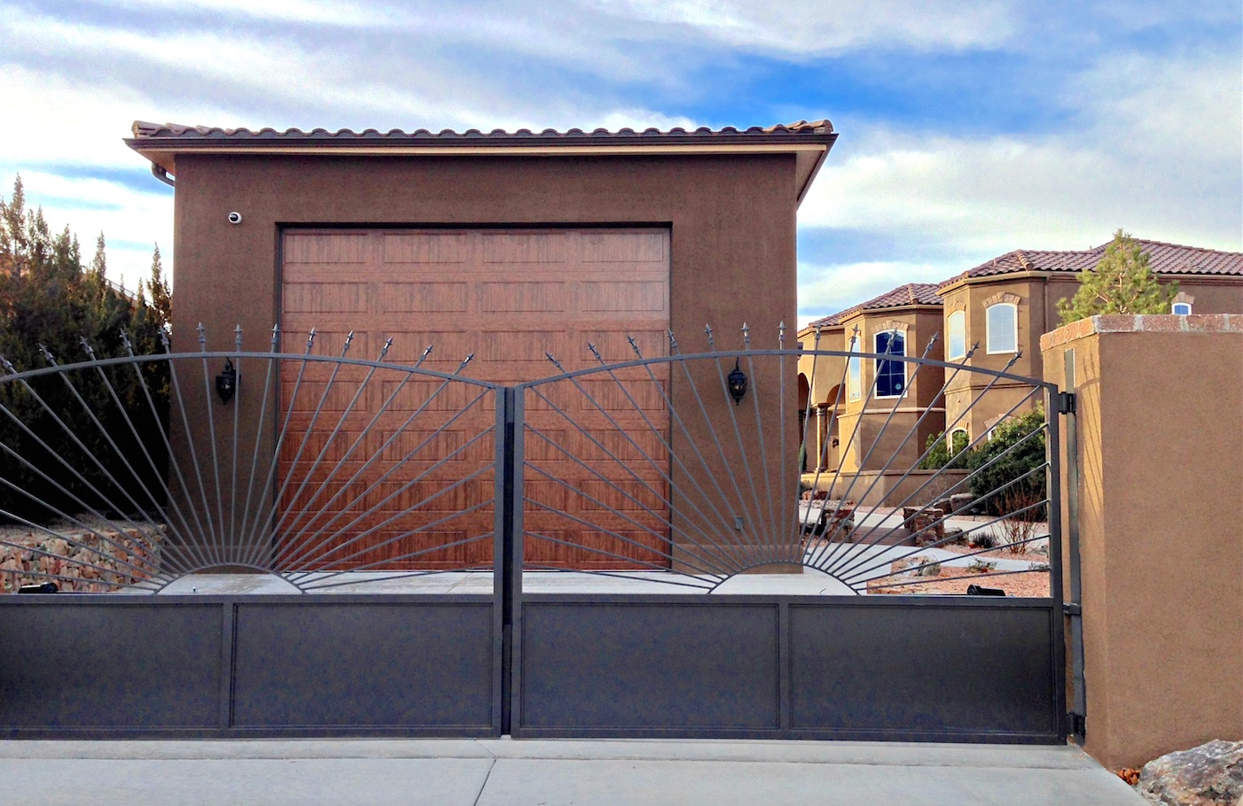 Rv garage construction in scottsdale az for Metal rv garage