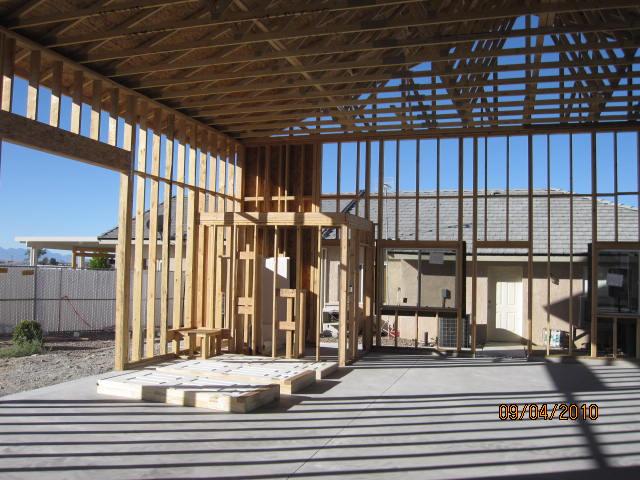 Custom RV Garage Construction