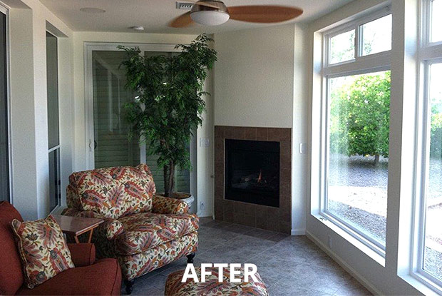 Our Atlanta remodelers can also convert your patio to another room, like enclosing it in to a sun room with lots of sunlight.