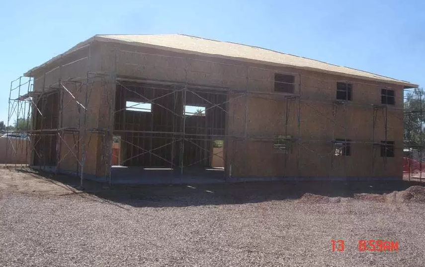 RV Garage construction in Phoenix AZ